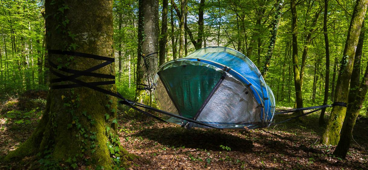 Cabane Bulle - L'arbre à cabane: hébergements insolites à Guyonvelle